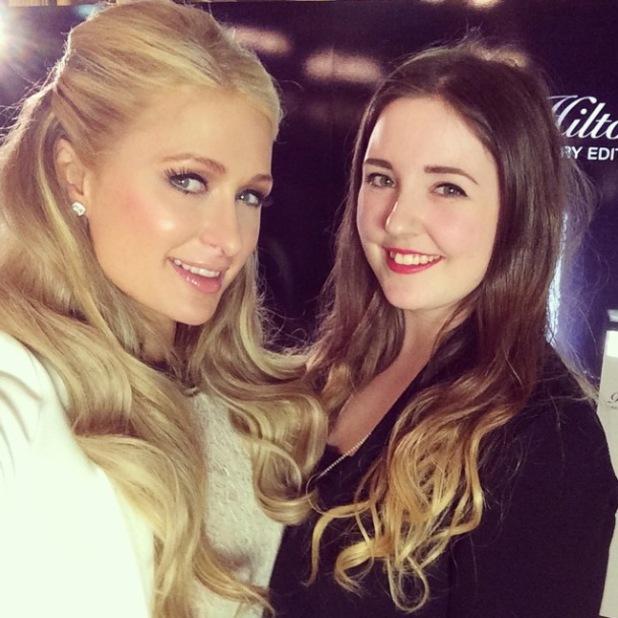Paris Hilton Reveal Magazine Interview Pic from Instagram