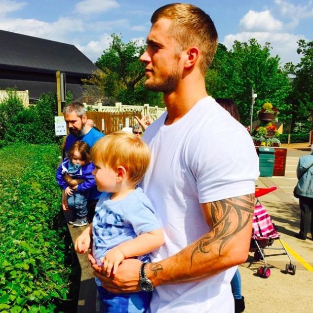Dan Osborne shares cute family snaps, 23 May 2015