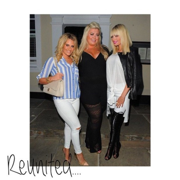 TOWIE stars Chloe Sims, Gemma Collins and Danielle Armstrong enjoy night out, 22 May 2015