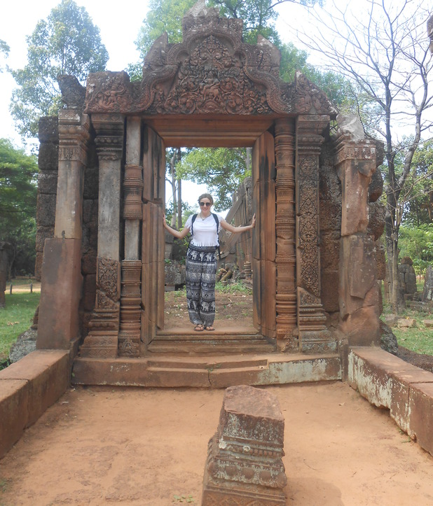 Banteay Srei temple, 19/5/15