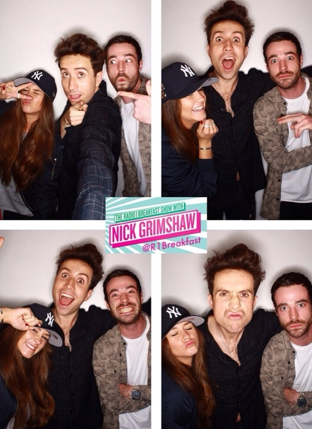 Brooke Vincent blog: Radio 1 with Nick Grimshaw 20 May