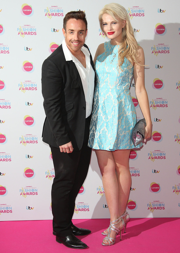 Chloe-Jasmine Whichello and Stevi Ritchie attend Lorraine's High Street Fashion Awards, Soho Sanctum Hotel, London 19 May