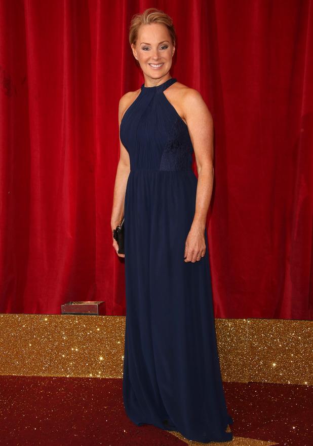 Sally Dynevor at British Soap Awards 16 May