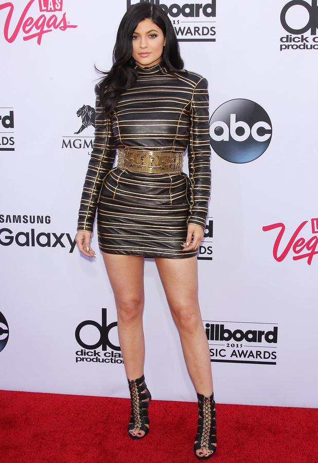 Kylie Jenner wearing Balmain at the Billboard Music Awards 18th May 2015