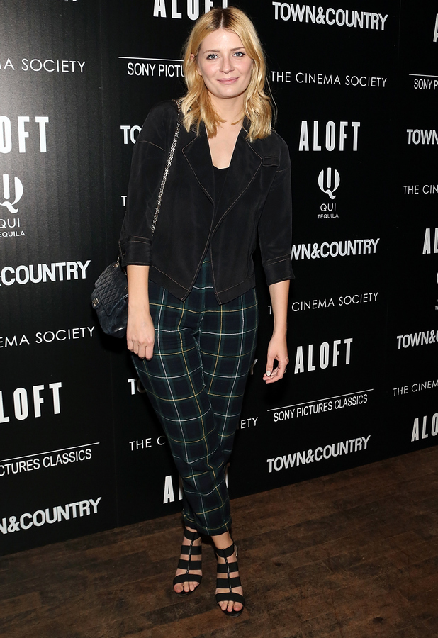Mischa Barton at the Cinema Society with Town & Country host a special screening ff Sony Pictures Classics' 'Aloft' after party at Laduree Soho on May 18, 2015 in New York City.