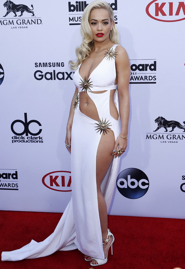 Rita Ora at the Billboard Music Awards in Las Vegas 18th May 2015