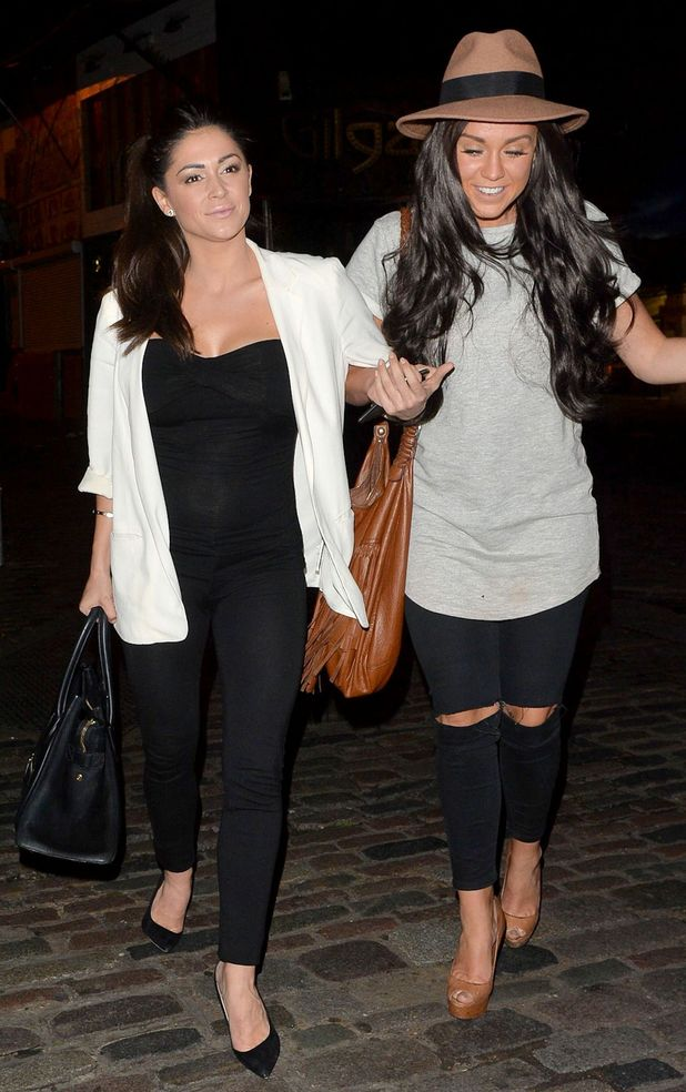 Vicky Pattison and Casey Batchelor out and about in London, 19th May 2015