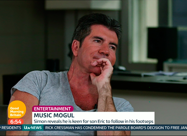Simon Cowell interviewed on 'Good Morning Britain'. Broadcast on ITV1 HD. 22 May 2015