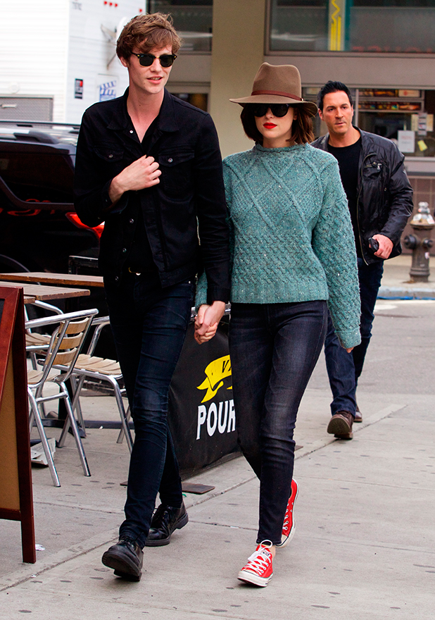 Dakota Johnson and Matthew Hitt out and about in the East Village in New York City, 20 May 2015