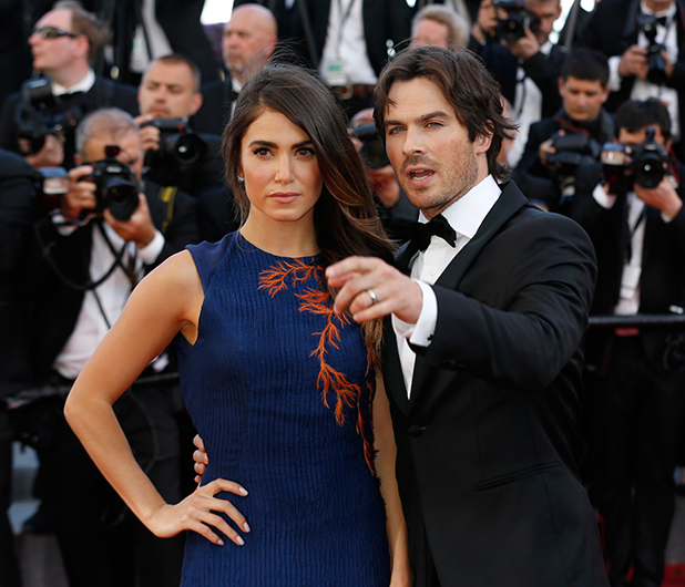 Ian Somerhalder and Nikki Reed, 68th Annual Cannes Film Festival - 'Youth' - Premiere, 20 May 2015
