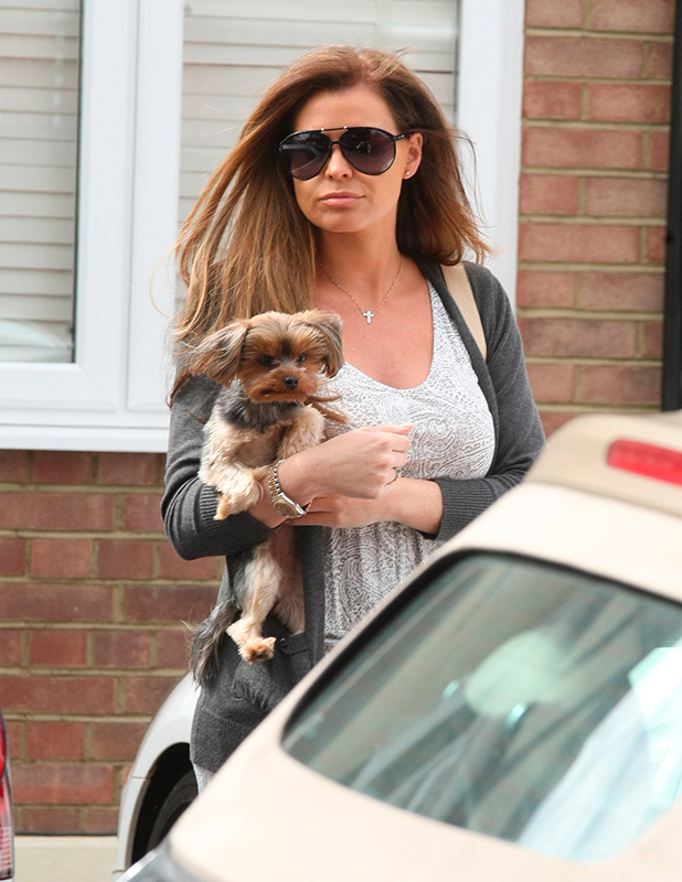 Jessica Wright out and about, Essex, Britain - 22 May 2015