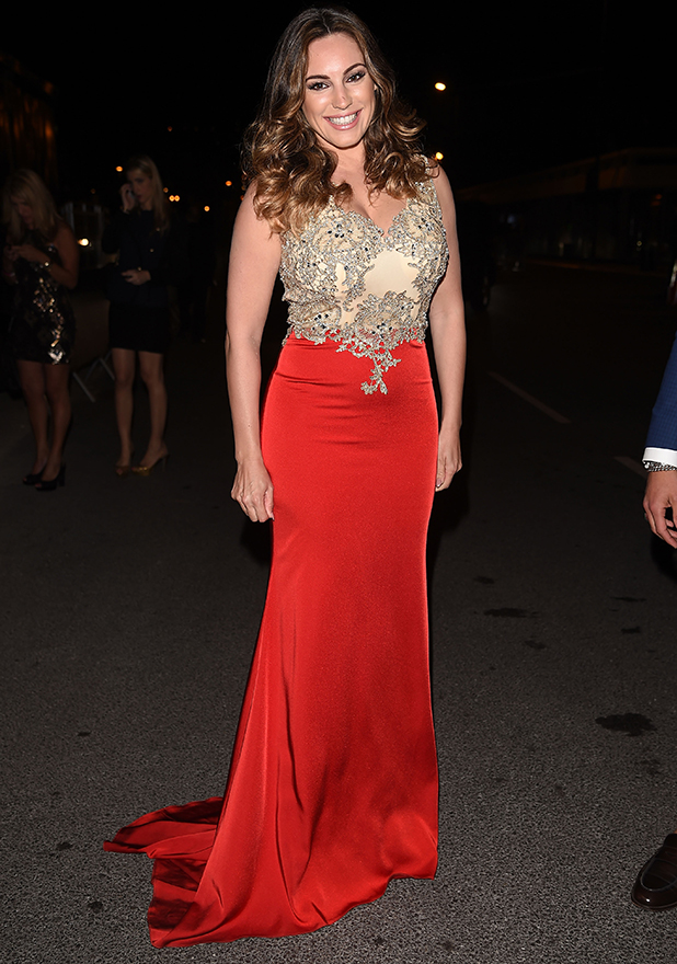 Kelly Brook is seen during The 68th Annual Cannes Film Festival on May 18, 2015 in Cannes, France.