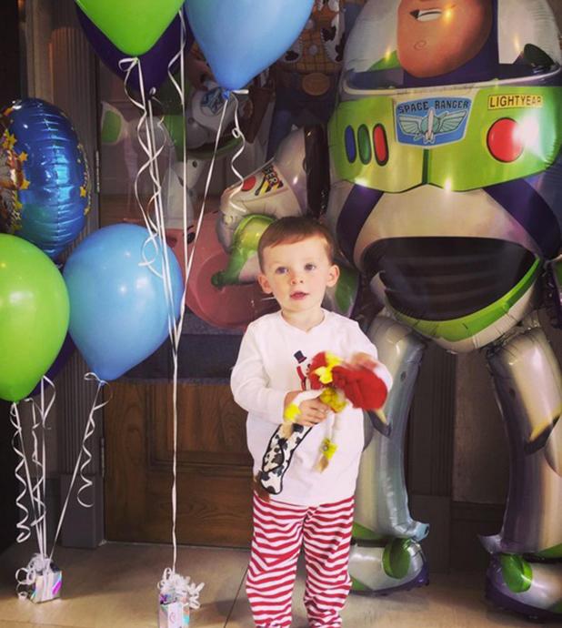 Klay Rooney celebrates his second birthday, 21 May 2015