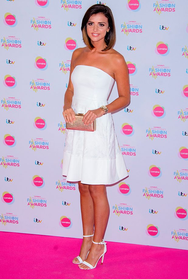 Lucy Mecklenburgh at Lorraine's High Street Fashion Awards 2015 at the Soho Sanctum Hotel - Arrivals 19 May 2015