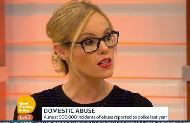 Michelle Dewberry on ITV's Good Morning Britain, 21 May 2015