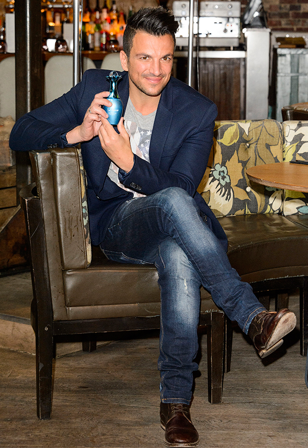 Peter Andre 'Breeze' women's fragrance launch, London, Britain - 20 May 2015