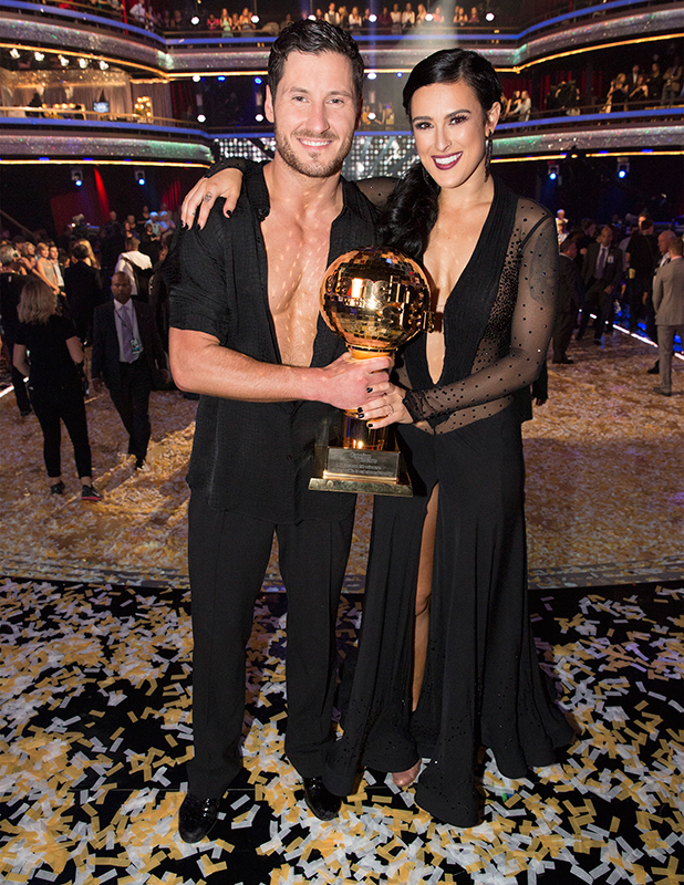 Rumor Willis and Val Chmerkovskiy were crowned the 10th Anniversary Season Champions and winners of the Gold Mirrorball trophy, on the Season Finale, TUESDAY, MAY 19 (9:00-11:00 p.m., ET) on the ABC Television Network.