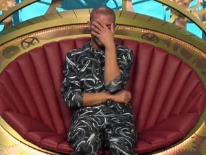 Big Brother removes Aaron Frew from the house, Channel 5 28 May