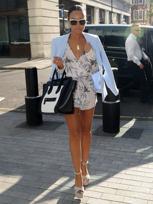 Leigh Anne Pinnock out and about in London, 27th May 2015