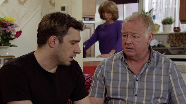 Corrie, Michael finds out the truth, Mon 1 Jun