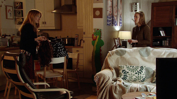 Corrie, Maddie catches Jenny, Thu 28 May