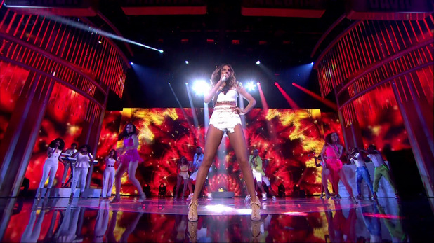 Alesha Dixon performs new single 'The Way We Are' on Britain's Got Talent 27 May