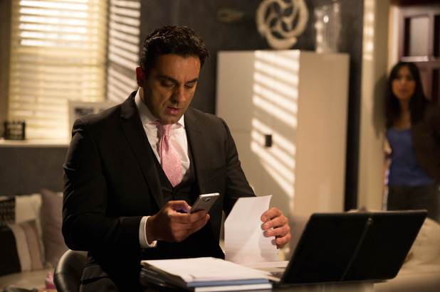 Emmerdale, Rakesh gets the DNA results, Mon 1 Jun