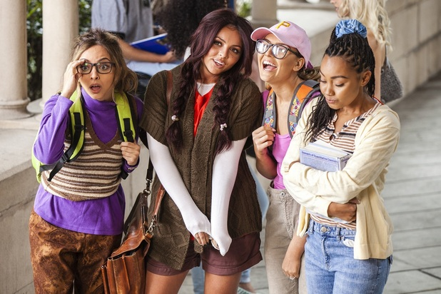 Little Mix Black Magic video behind the scenes, May 2015