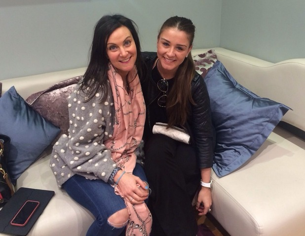 Brooke Vincent blog picture - 27 May: shopping with Alex from costume for Corrie.