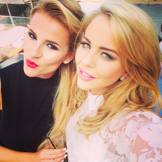Lydia Bright and Georgia Kousoulou party in Marbs, 31 May 2015