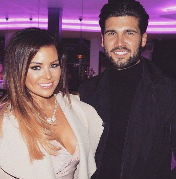 TOWIE's Jessica Wright and Dan Edgar during series 14 - April 2015.