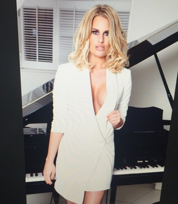 Danielle Armstrong on Honeyz shoot, 29th May 2015