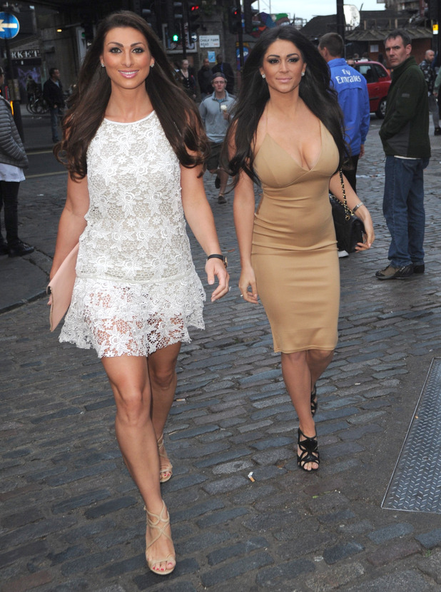 Luisa Zissman and Casey Batchelor dine out at Gilgamesh for Luisa's birthday, 30 May 2015