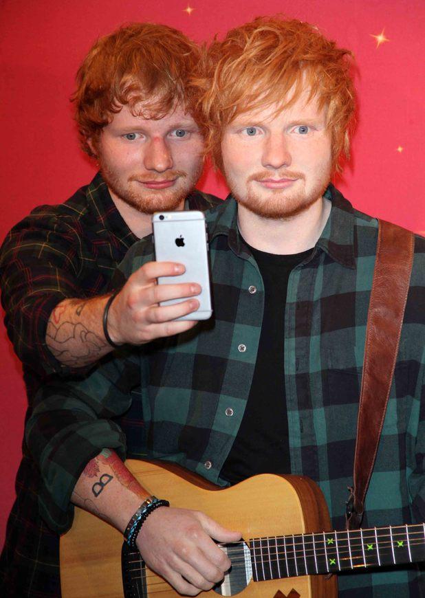 Madame Tussauds New York and Ed Sheeran debut the never before seen wax figure of Ed Sheeran - 28 May 2015.