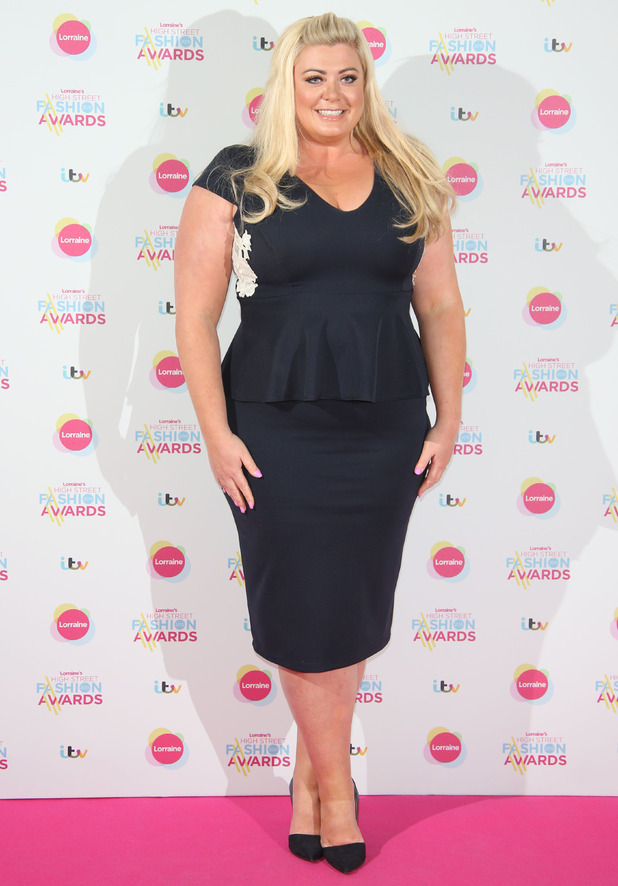 Gemma Collins, Lorraine's High Street Fashion Awards held at Grand Connaught Rooms - Arrivals, 19 May 2015