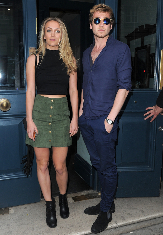 Sam Thompson and Tiffany Watson, Ferne McCann's clothing launch with Look Of The Day, London 27 May