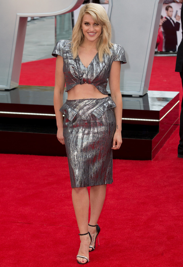Ashley Roberts attends the Spy Premiere in London, 27th May 2015