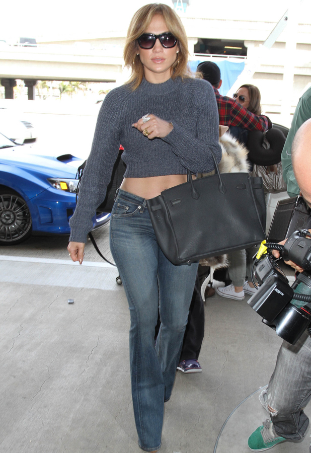 Jennifer Lopez, J.Lo arriving at LAX airport, 27th May 2015