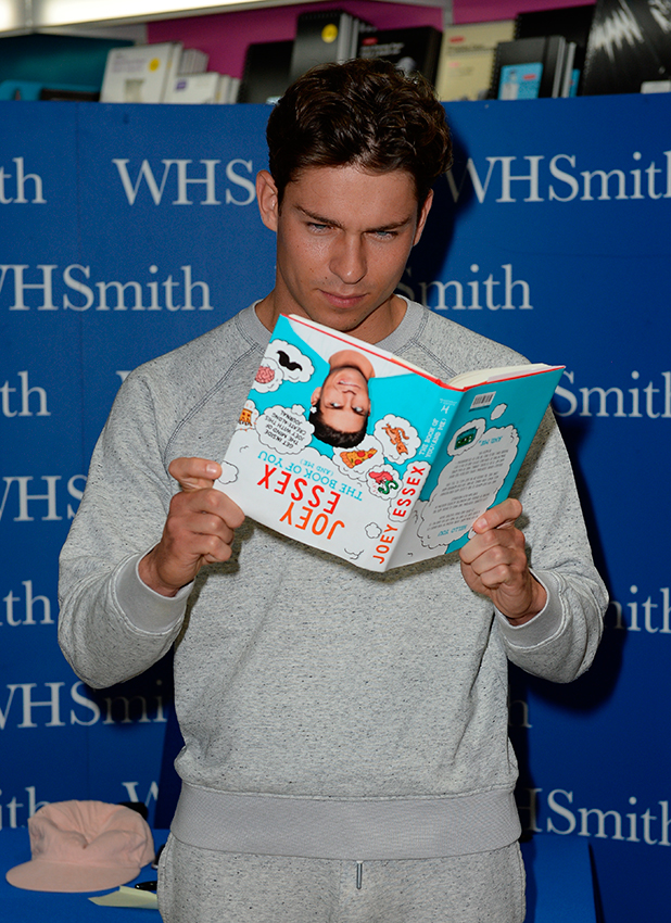 Joey Essex signs copies of his new book 'The Book Of You (And Me)' at WHSmith