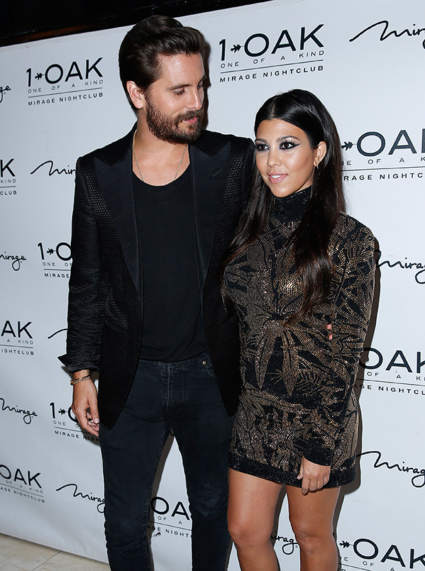 Scott Disick celebrates his Birthday at 1 OAK Nightclub inside the Mirage Hotel and Casino Las Vegas, 26 May 2015