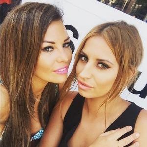 Jessica Wright and Ferne McCann, Marbella 4 June