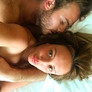 Charlotte Crosby shares intimate snap with boyfriend Mitch Jenkins in bed, 5 June 2015