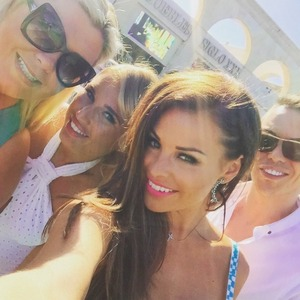 Jessica Wright has fun with co-stars Marbs, 4 June 2015