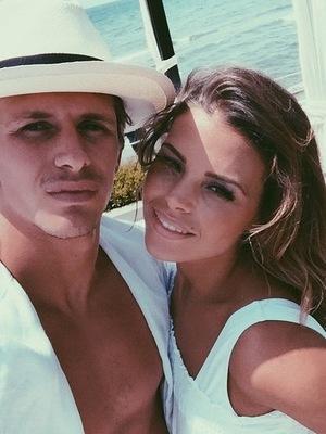 Jake Hall and Chloe Lewis, Marbella 5 June