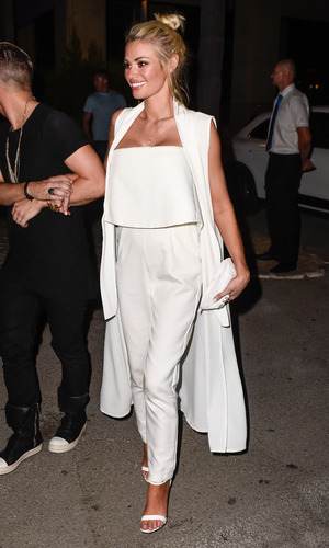 The Only Way Is Essex's Chloe Sims parties at Cavalli Club in Marbella on it's grand opening night - 31 May 2015.
