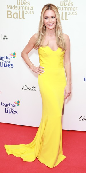 Amanda Holden, Together For Short Lives charity ball, London 3 June