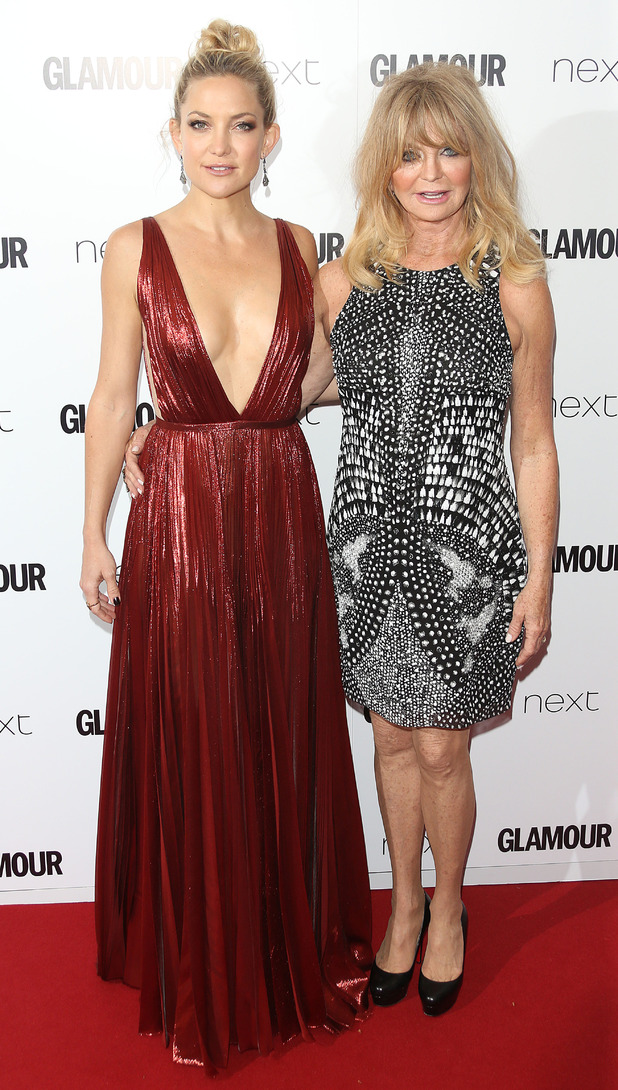 Kate Hudson and Goldie Hawn at The Glamour Women of The Year Awards 2015, 3rd June 2015