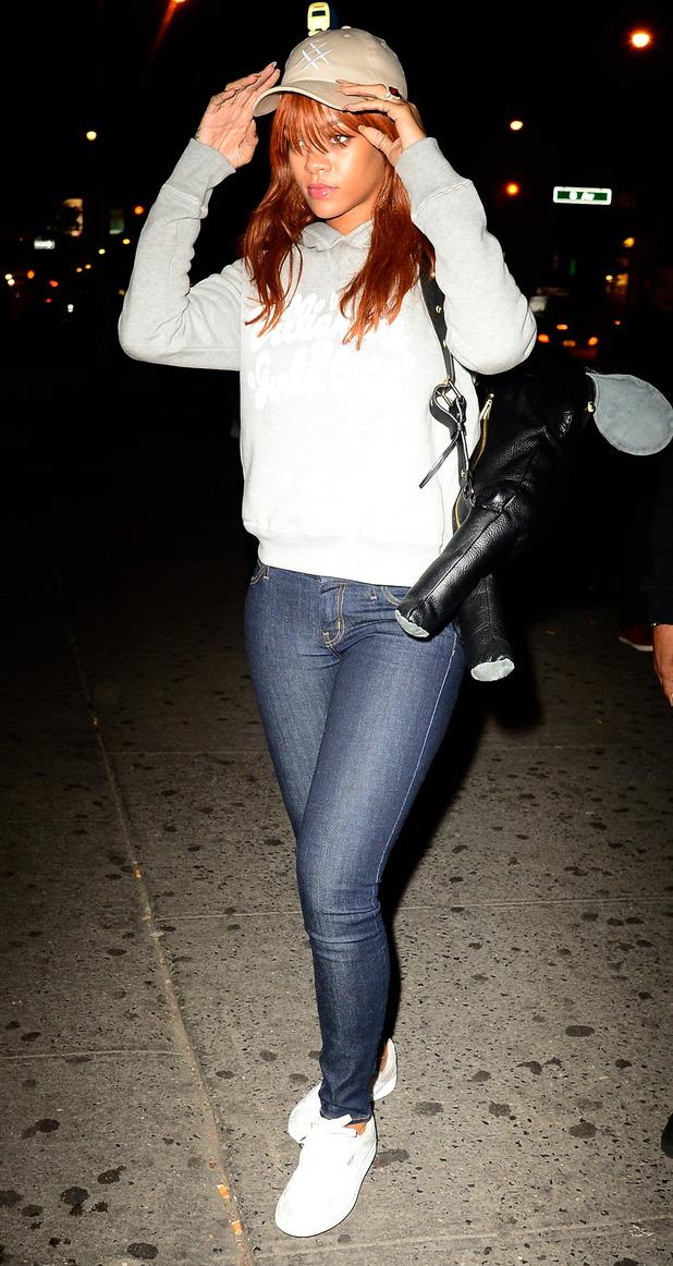 Rihanna leaving Game Nightclub in New York 3rd June 2015