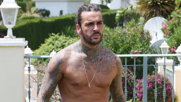 Peter Wicks joins the cast of TOWIE, Marbella 1 June
