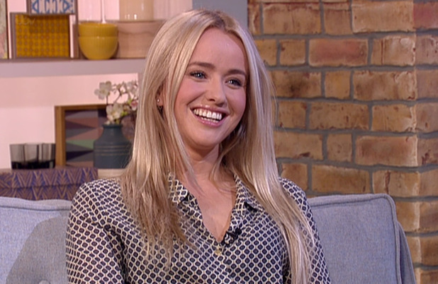 Sammy Winward promoting her new children's book, 'Princess Phoebe Meets the Tudors', on 'This Morning'. Broadcast on ITV1 HD - 4 June 2015.